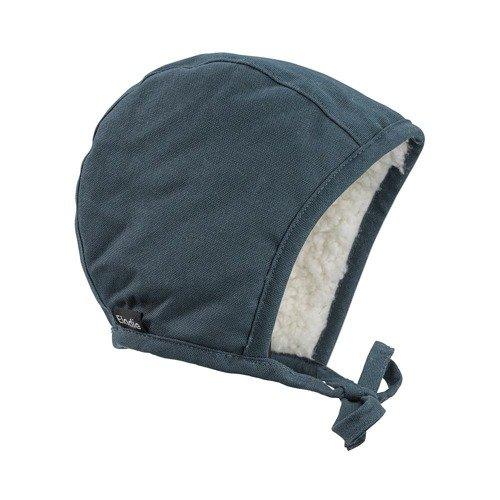 Elodie Details - Czapka Winter Bonnet - Juniper Blue - 3-6 m-cy