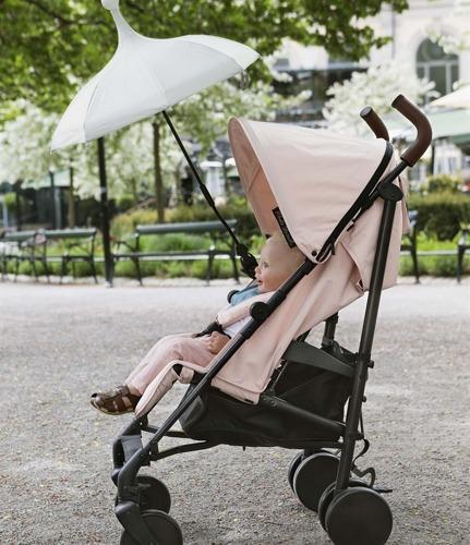 Elodie Details - wózek spacerowy Stockholm Stroller Powder Pink