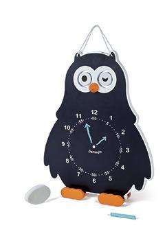 Janod - Edukacyjny zegar drewniany  Sowa