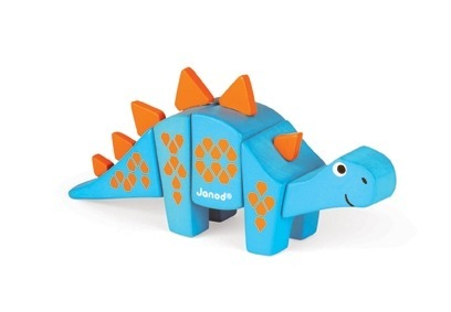 Janod - Stegosaurus drewniany do złożenia