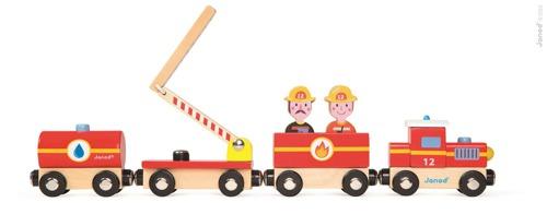 Janod - Straż pożarna pociąg drewniany