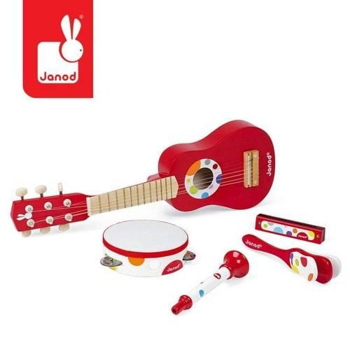 Janod - Zestaw instrumentów duży Confetti