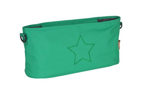 Lassig - Casual Label Organizer do Wózka Star deep green