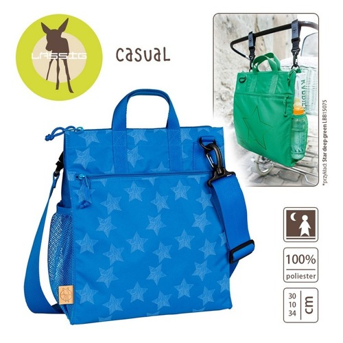 Lassig - Casual Label Torba do Wózka Reflective Star blue