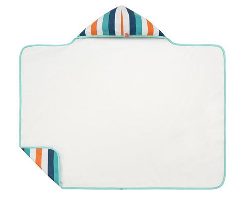 Lassig - Ręcznik z kapturem Multistripe