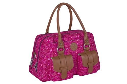 Lassig - Vintage Label Torba z Akcesoriami Metro Paisley pink