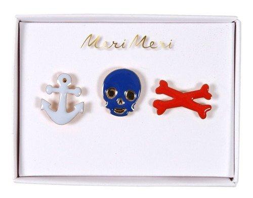 Meri Meri – Przypinki Pirat