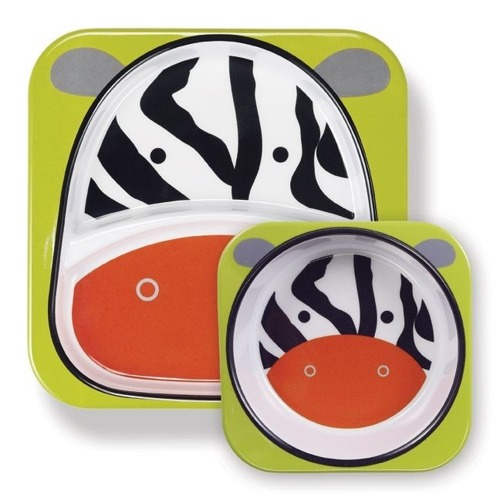 Skip Hop - Talerz Zoo Zebra