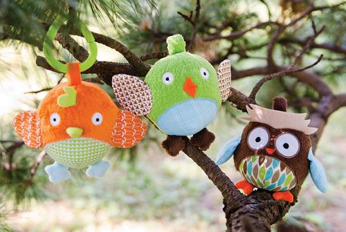 Skip Hop - Zabawka Treetop Friends Ball Trio