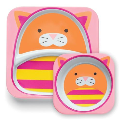 Skip Hop - Zestaw jedzeniowy Zoo Kot
