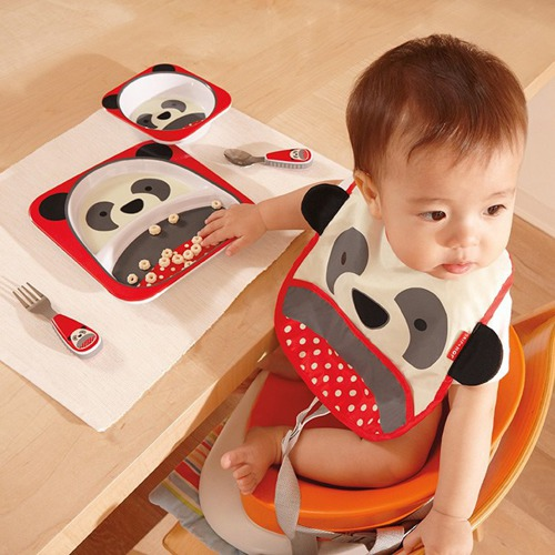 Skip Hop - Zestaw jedzeniowy Zoo Panda