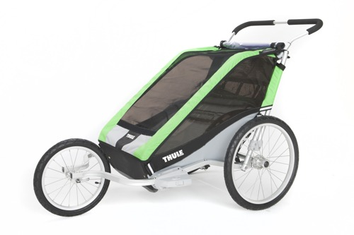THULE Chariot Cheetah 2, podwójny wózek do biegania + zestaw rowerowy