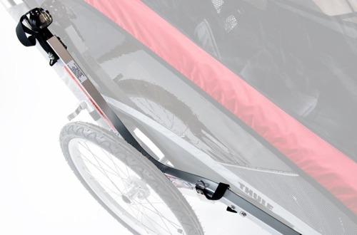 THULE Chariot Cougar 1, przyczepka rowerowa dla dziecka - zielona