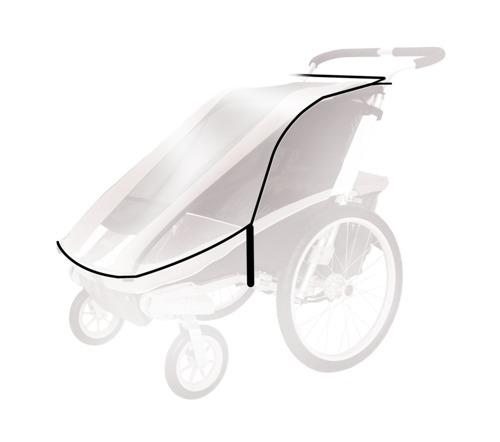 THULE Chariot - Osłona przeciwdeszczowa Cougar1/ CX1