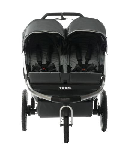 THULE Urban Glide 2 Dark Shadow wózek do biegania + gondola