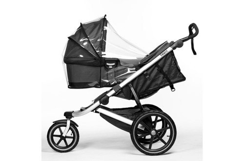THULE Urban Glide Dark Shadow wózek do biegania + gondola